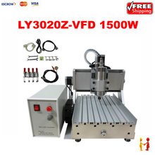 1500W stone cutting machine CNC 3020 3axis Metal engraving router woodworking machinery