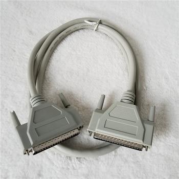 DB37 37Pinオスアダプタデータ延長ケーブル用のpcテレビプロジェクター 1.5 メートル白