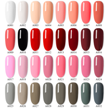 RBAN NAIL Gel Nail Polish Gel Varnish Paint Semi Permanent Nails Art Gel Nail Polish For Manicure Gellak Top Coat Hybrid Primer 1