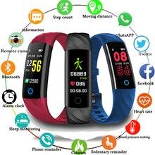 Smart Band Watch Blood Pressure Oxygen IP68 Waterproof Fitness Bracelet Heart Rate Smartband Sport Activity Tracker Wristband все цены
