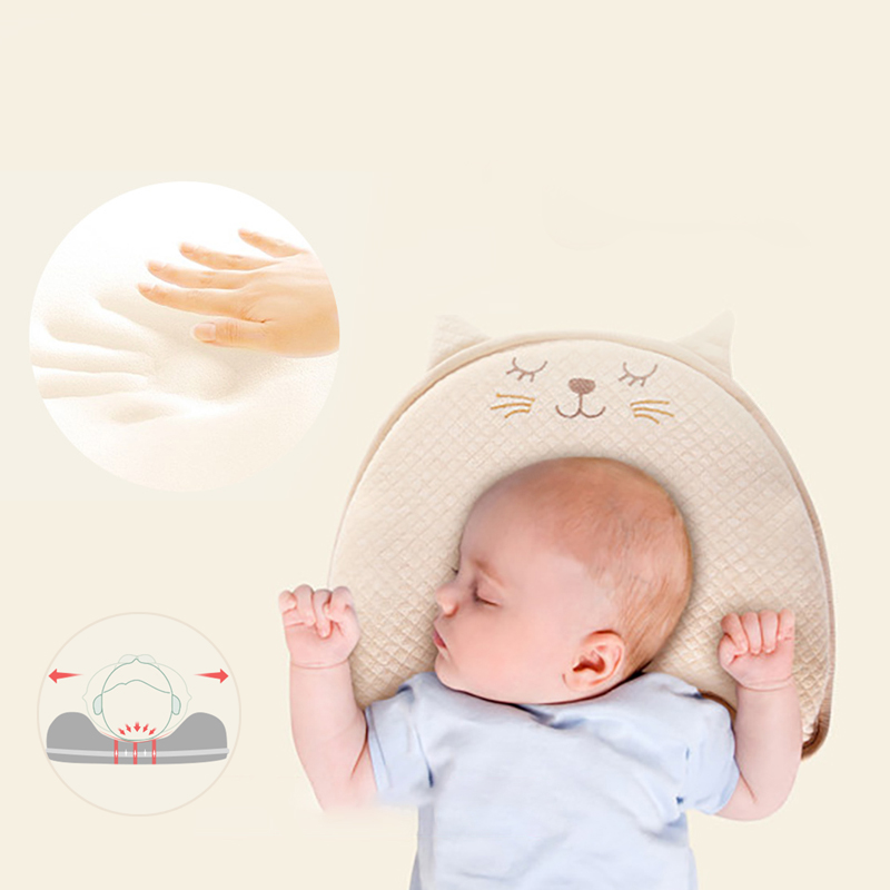 Sunmer Baby Pillow Newborn Head Protection Cushion Baby Bedding Infant Nursing Pillow Toddler Sleep Positioner Anti Roll Cushion newborn infant baby pillows toddler kids boy girl safe cotton anti roll pillow sleep flat head positioner newborn baby pillows