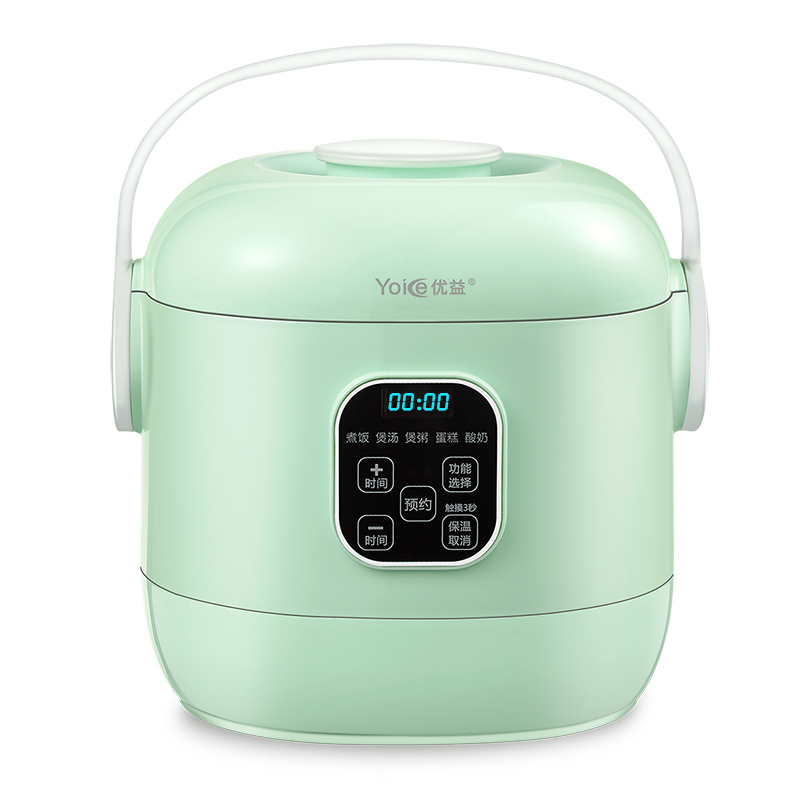 Intelligent Mini Rice Cooker Lunch Box Small 1-3 People 2L Reservation Touch ScreenIntelligent Mini Rice Cooker Lunch Box Small 1-3 People 2L Reservation Touch Screen