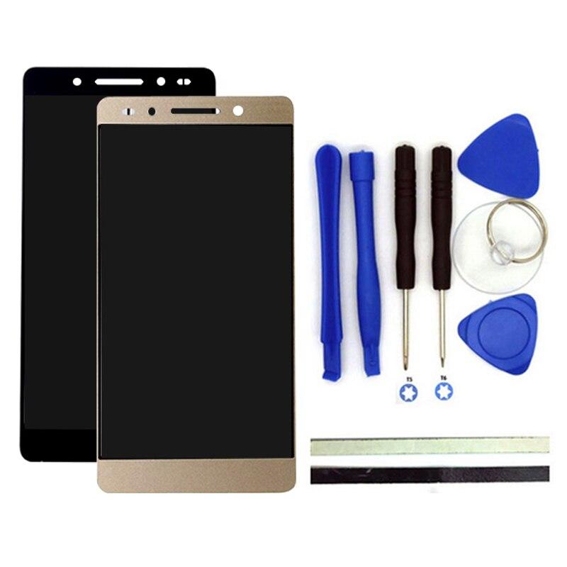 100% nouveau pour huawei honor 7 lcd screen display + digitizer tactile Remplacement Du Panneau de L'écran 5.2 pouce Honor7 Téléphone Pièces Avec Outils