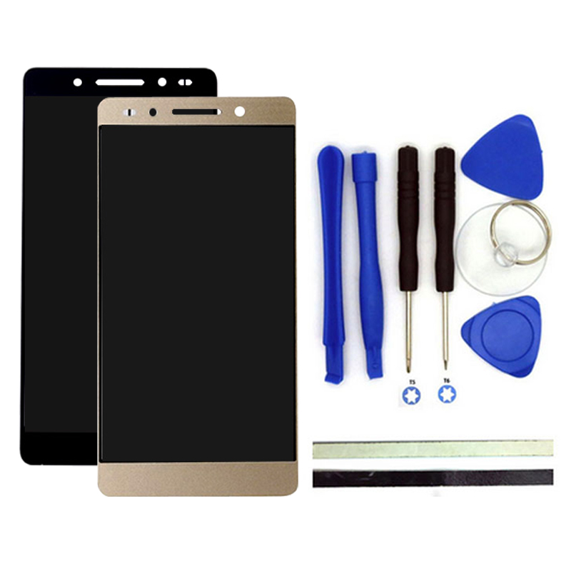 100% nuevo para huawei honor 7 lcd display screen + digitalizador Reemplazo Pane
