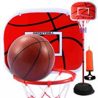 1.5 m Basketball Stand Children's Outdoor toy Freely adjustable height for child above 2 years old