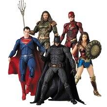 DC MAFEX Aquaman 061 экшн Фигурка «вспышка Aquaman чудо женщина» Бэтмен Супермен игрушечная кукла