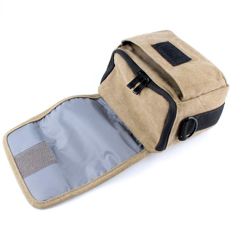 Canvas Case Camera Bag For SONY A7 A7S A7R A7K ILCE-7 A7ii Alpha A7 II Mark II NEX-6 NEX-7 NEX-3N HX200V H200 RX100