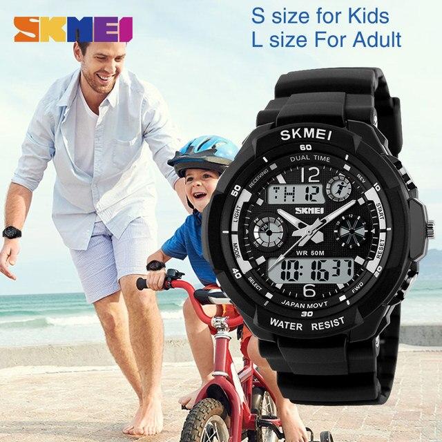 SKMEI Kids Watches Anti-Shock 5Bar Waterproof Outdoor Sport Children Watches Fashion Digital Watch Relogio Masculino 0931 1060 5