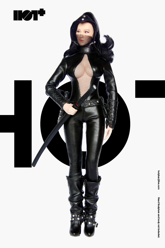 1/6 scale figure Clothing accessories Female Ninjia costume for 12 Action figure doll,Not included body,head and other 1 6 scale figure clothing accessories female combat suit uniforms for 12 action figure doll not included body head and weapon