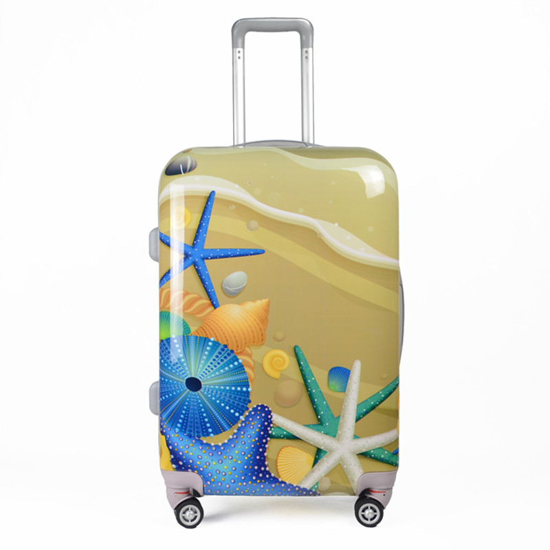 Women Underwater World prints Spinner Cartoons Men Trolley ABS+PC Suitcase waterproof Luggages 20''24'' Travel Bags Box bolsos