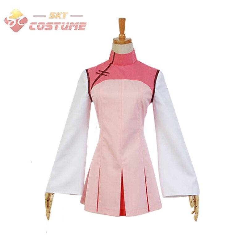 Anime Ai Tenchi Muyo! Sasami Masaki Coslay école uniforme rose robe Halloween Cosplay nouveauté toute taille ensemble complet