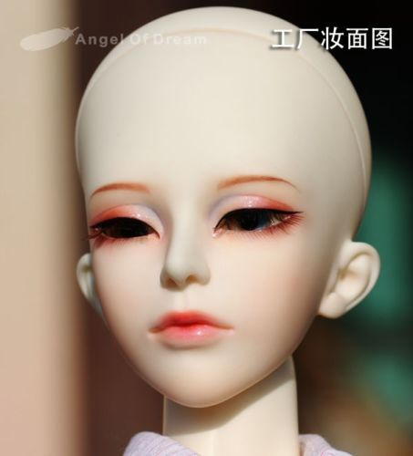 [wamami] Newly Non-make-up YUKI AOD 1/3 BJD Dollfie Girl Doll Parts Single Head [wamami] aod 1 4 bjd dollfie girl doll parts single head not include make up meng ya qi