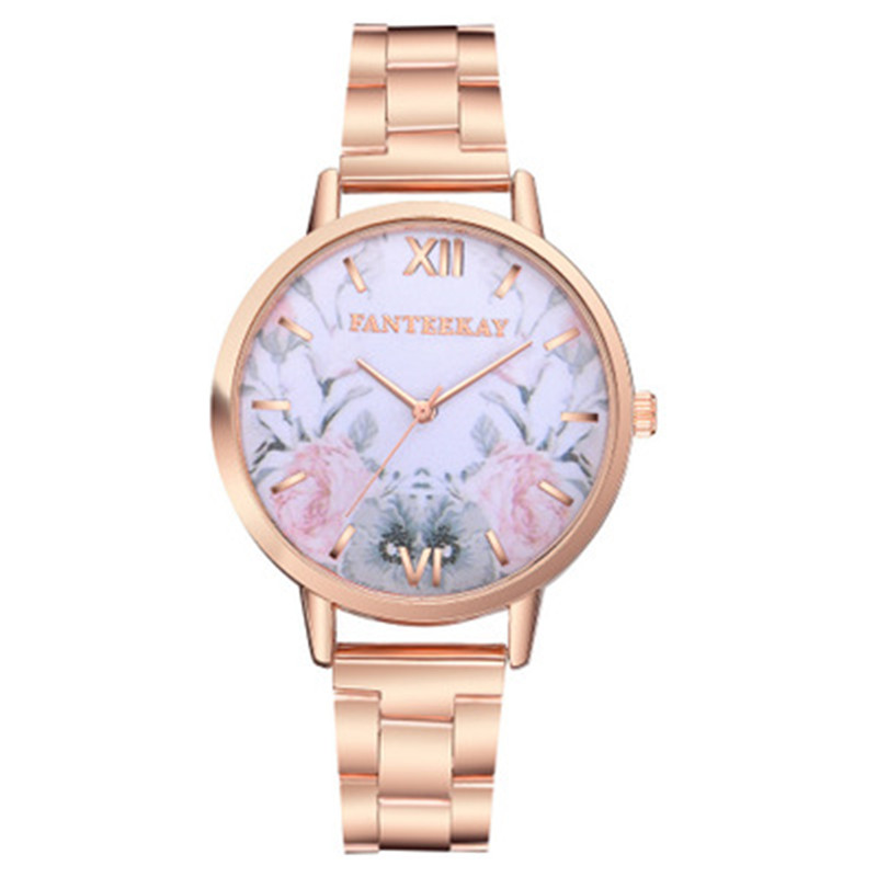 Woman Watches 2019 Luxury Brand montre homme New Gold Silver Alloy Hollow Perspective Quartz Wrist Watches for erkek kol saati in Women 39 s Watches from Watches
