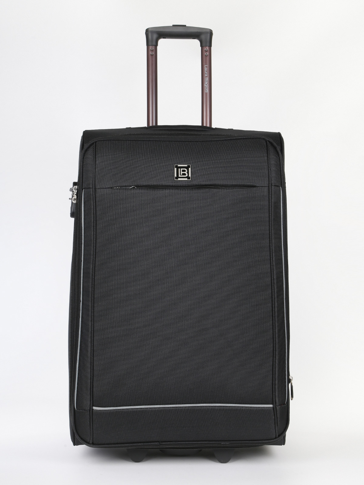 Large Suitcase 2 Wheels-74X46X33-Black