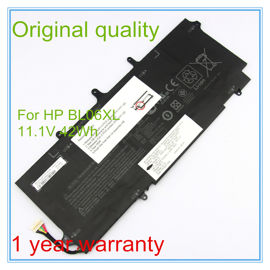 Original Laptop Battery for BL06042XL BL06XL HSTNN-DB5D HSTNN-W02C 722236-171 722236-2C1 Free shipping jigu laptop battery bl06042xl bl06xl hstnn db5d hstnn ib5d hstnn w02c for hp for elitebook folio 1040 g0 g1 l7z22pa
