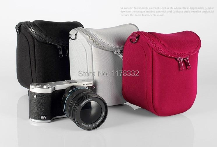 camera case cover bag Shoulder Strap for SONY NEX-7 6 5T 5TL 5R 5C 5N F3 3N C3 for Nikon 1V1 1J1 10-30mm for Lumix GF2 GF3