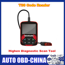 High Quality T30 Quicklynks Highen Diagnostic OBDII/EOBD/JOBD Scan Tool Auto Code Reader With Color-Screen Display