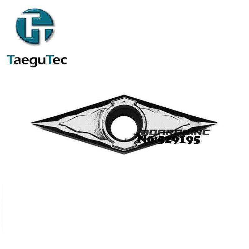 VCGT110302-FL K10/VCGT110304-FL K10, 10pcs Genuine Original Taegutec Cnc Lathe Dedicated Blade Outer Circle, Inner Hole,