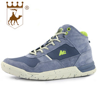 BACKCAMEL Autumn Winter Outdoor High Quality Wearable Casual Footwear Trend Sports Shoes High Tied Suede Men's Vulcanize Shoes
