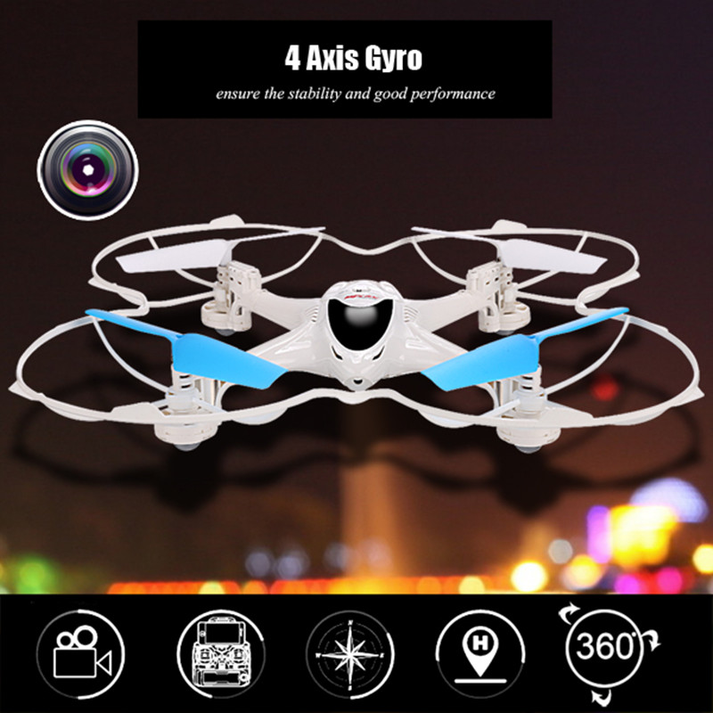 MJX X300C FPV RC Quadcopter 3D flips RC drone 4CH 6 Axis Gyro RC Drones with Camera Headless Mode Drones VS MJX X101 X102H drones cd