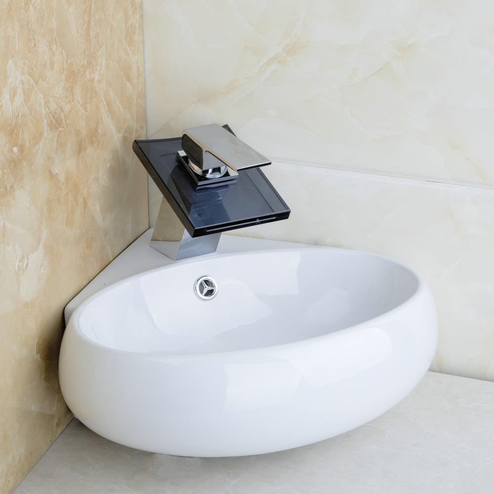 Hello Bathroom Ceramic Basin Sink Faucet Set Bacia Set Torneira Da Pia High  Quality TW32058217 Wash
