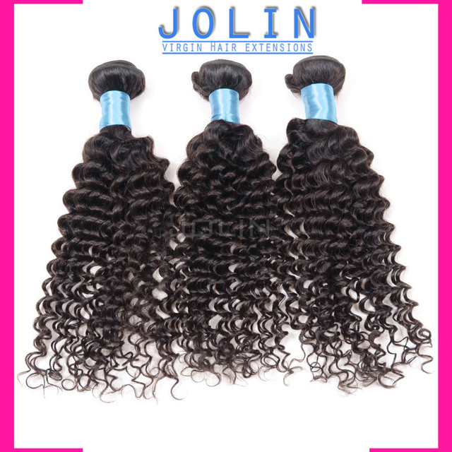 Luvin Produits Cheveux Malaisienne Kinky Curly Hair Extension 3 Pcs