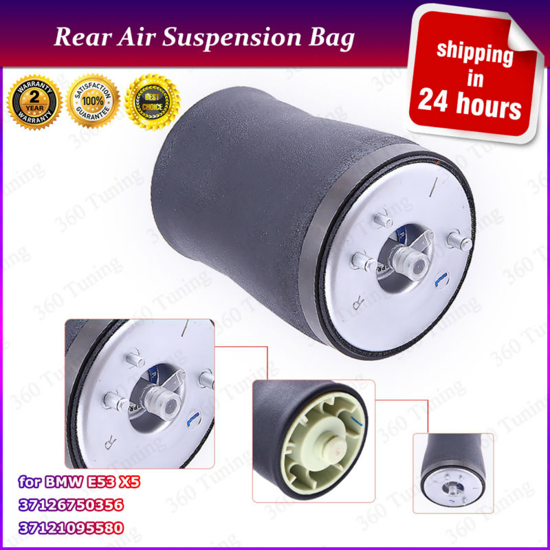 Air bag Air Suspension for BMW X5 E53 2000-2007 Shock Absorber Strut  Rear Right  Spring  37116761443/37116761444 37126750356 brand new premium quality right rear suspension air spring 37121094614 for bmw 5 series wagon