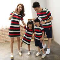 Familie Passenden Kleidung Nationalen Shirts 2019 Vater Mutter Tochter Sohn Mom Mama Und Mich Kleidung Kleid Paar Familie Aussehen Outfit