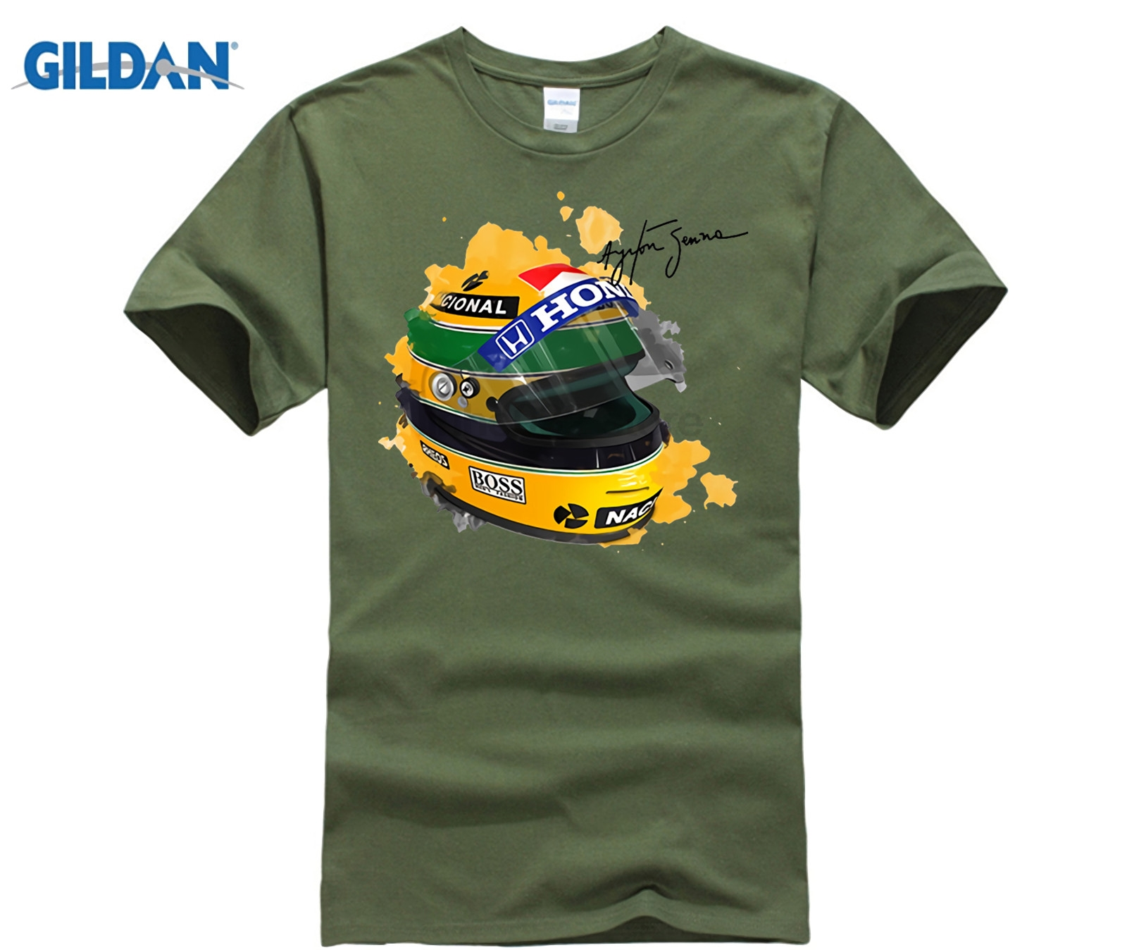 gildan-ayrton-font-b-senna-b-font-helmet-t-shirt-tops-1-race-car-watercolor-men-100-cotton-short-sleeve-tee-shirt-signature-man-t-shirt