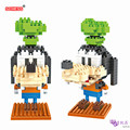 SC: Mickey Goofy Goofy 1006 Diamante Micro Nano Building Blocks Figura de Acción boy & girl regalos