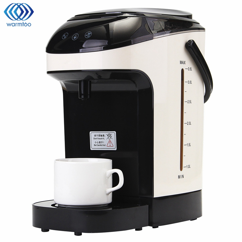 3.5L Instant Boiling Water Dispenser Electric Kettle Desktop Hot Water Boiler Office Coffee Tea Maker Home Appliances 2000W high quality electric kettle double wall insulation quick heating digital electric thermos water boiler home appliances for tea