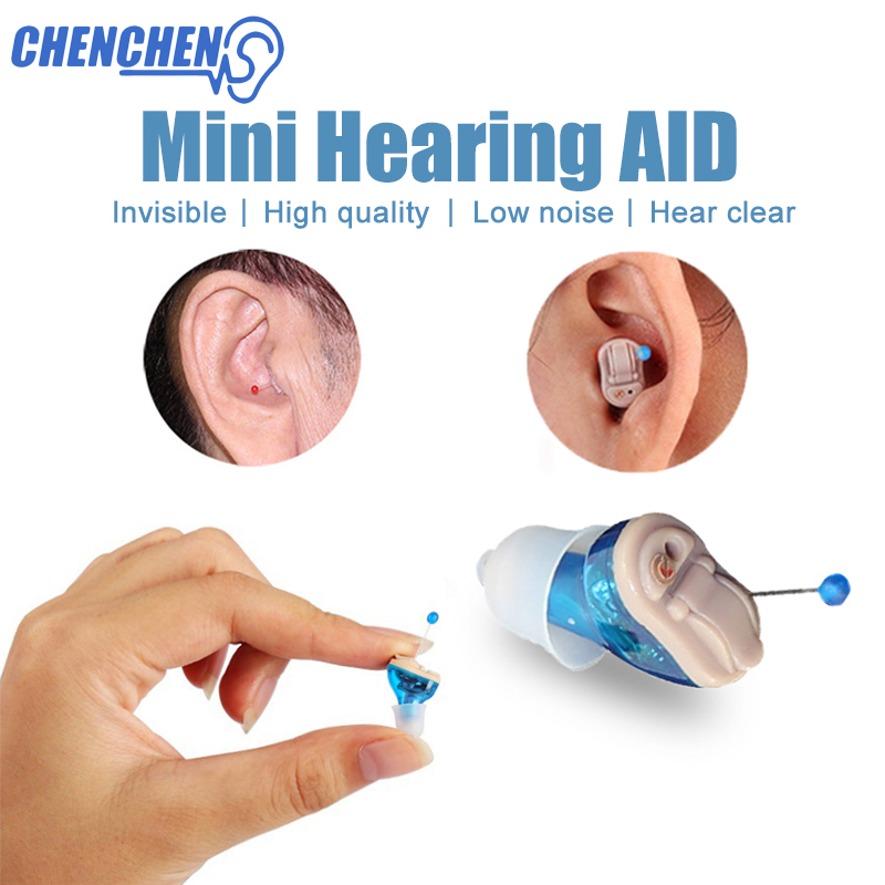 2018 New Hearing Aid Amplifier Mini Pocket Digital Hearing Aids Adjustable Invisible Ear Amplifier Deaf Aid Audifono 2016 new products cheap china feie brand invisible digital hearing aid audiofone amplificador de surdez s 10a audifono with a10