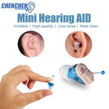 2018 New Hearing Aid Amplifier Mini Pocket Digital Hearing Aids Adjustable Invisible Ear Amplifier Deaf Aid