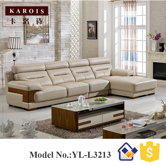 Diamond Modern White Leather U Shaped Sectional Sofa W: L Shaped Sofa Designs Images