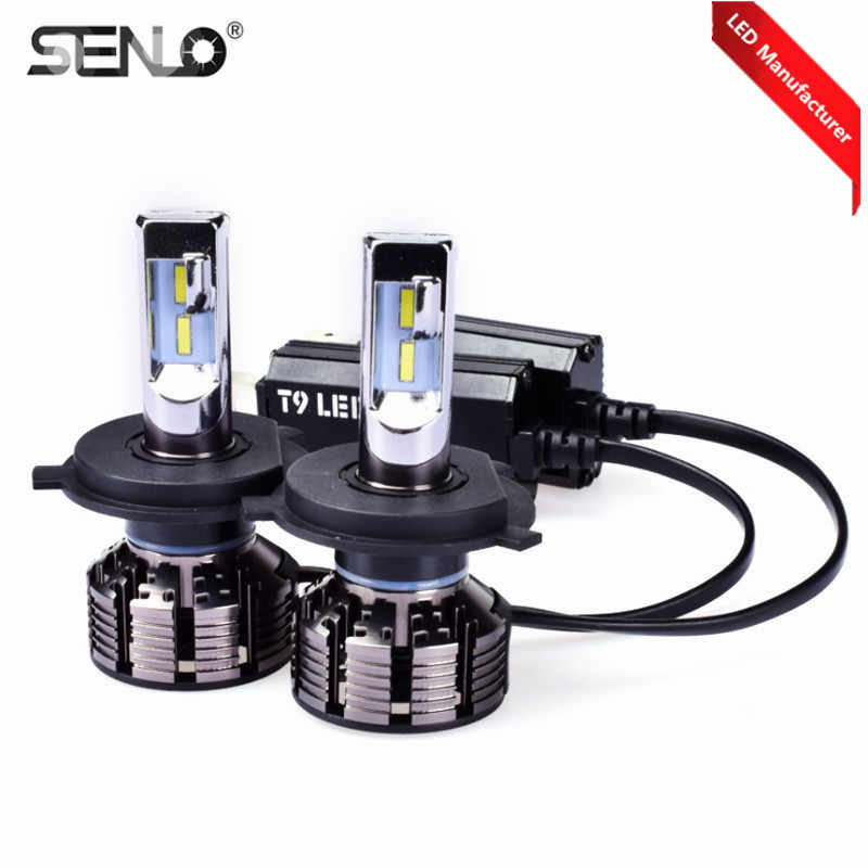 Easy install Car Styling 2pcs 12v 6000k H4 H7 Headlight Lamp Kit Light Bulb For 9004 H1 H8 H11 H13 H3 9005 9006 LED White Lamp