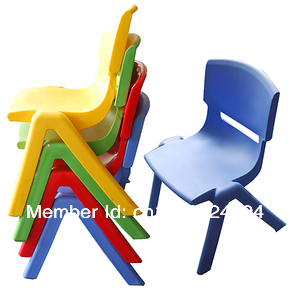 Plastic chair backrest thickening child study tables and chairs set ...