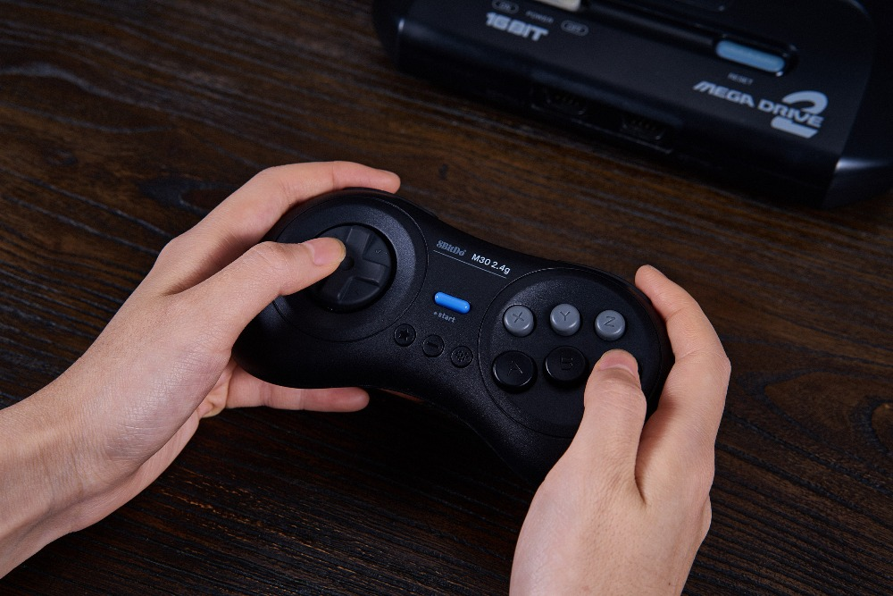 8BitDo M30 2.4G Wireless Gamepad for the Original Sega Genesis and Sega Mega Drive - Sega Genesis 11