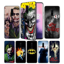 Batman Joker Dark Knight Soft Black Silicone Case Cover for OnePlus 6 6T 7 Pro 5G Ultra-thin TPU Phone Back Protective