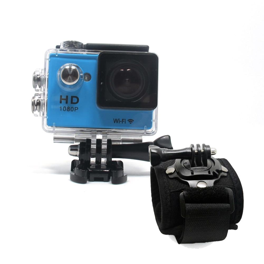 ミニ1080 p防水アクションスポーツ車カムsj wifi hdカメラビデオカメラアクセサリー手首