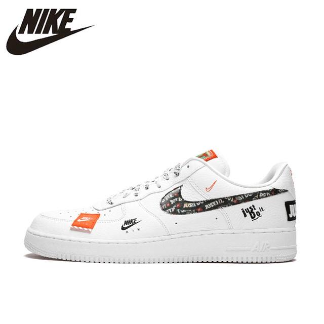 e2538c57 Оригинальный Новое поступление Аутентичные Just do it Nike Air Force 1 Low  Для мужчин удобные Скейтбординг