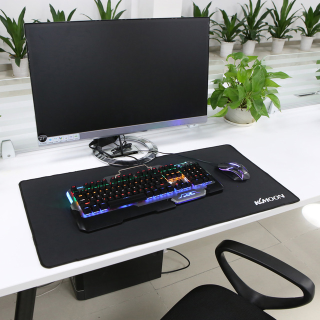 KKmoon Large Size mouse pad Anti-slip Natural Rubber PC Computer Gaming mousepad Desk Mat for LOL surprise cs go overwatch DOTA2 3