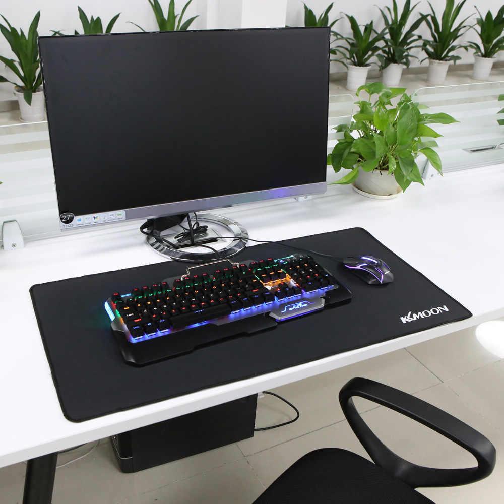 KKmoon большой размер коврик для мыши Противоскользящий натуральный резиновый ПК компьютерный игровой коврик для мыши Настольный коврик для LOL surprise cs go overwatch DOTA2
