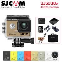 Original SJCAM SJ5000X Elite 4K 24fps 2K 30fps WiFi 2.0 LCD Gyro Diving 30m Waterproof Bicycle Mini Outdoor Sport Action Camera