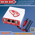 A Versão Neest Micro Caixa Totalmente Ativado Para Htc + Sagem + BB + Alcatel + 40 Conjunto de Cabos + Cabo Para HTC + micro caixa adaptador