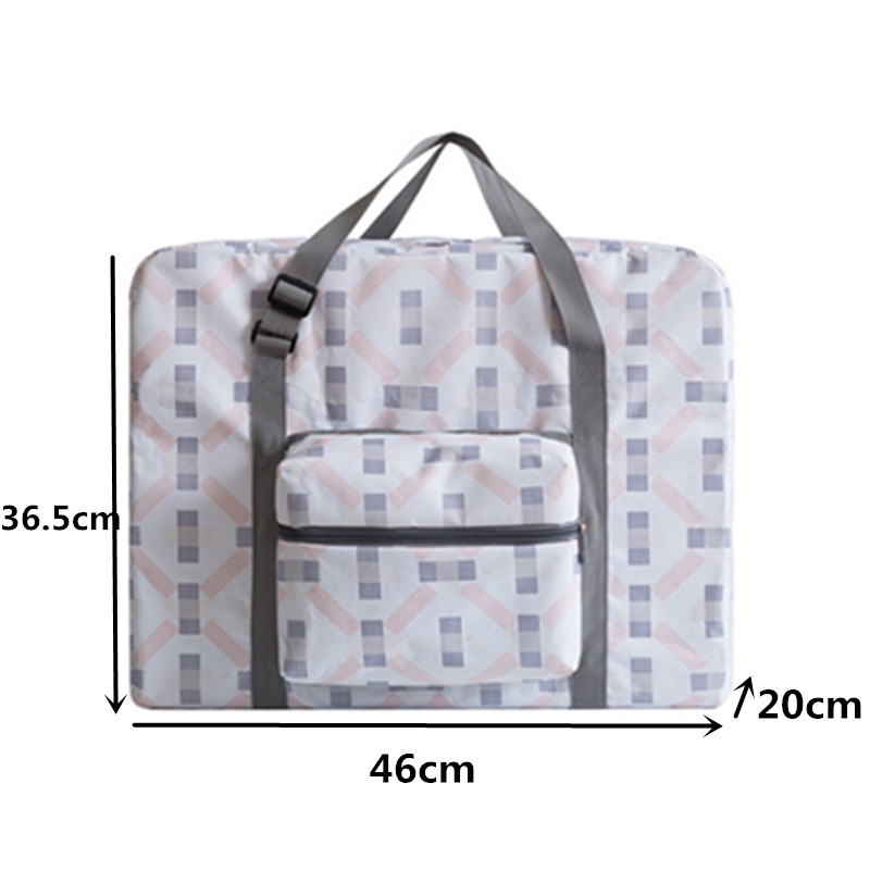 Folding Print Travel Luggage Bag Organizer Clothing Shoes Finishing Storage Pouch Packing Cubes Carry-on Duffle Bag Accessories