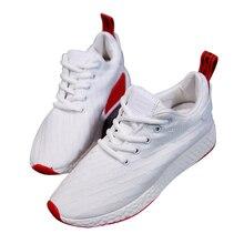 Zapatos Rushed Women Sneakers 2018 Летняя мода Breathable Ladies Casual Shoes Slip-on Высококачественная плоская сетка Студенческая галстук 48