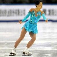 RUBU Customization Ice Figure Skating Dress Vogue New Brand Black and Red Competition Figure Skating Dresses Custom