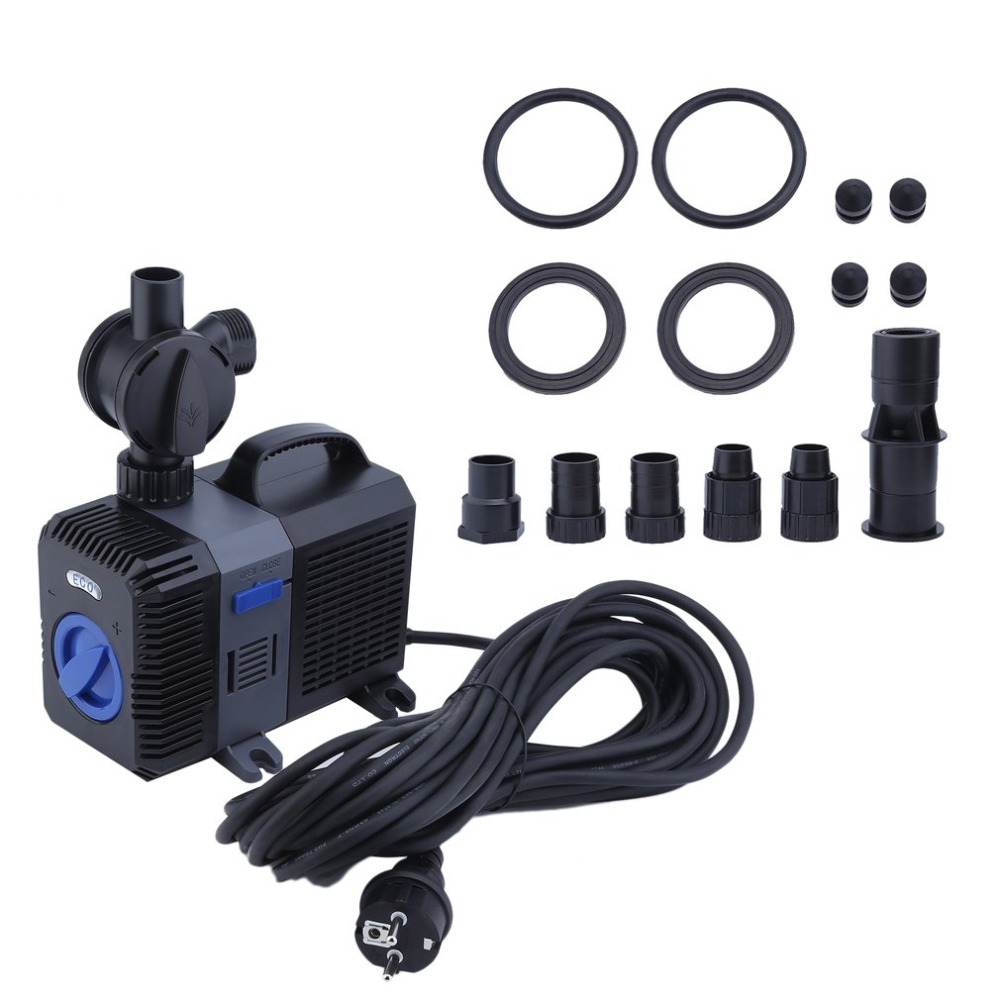 40W Variable Frequency Powerful Pond Fountain Pump Aquarium Circulation Submersible Water Pump CTP-6003 EU Plug