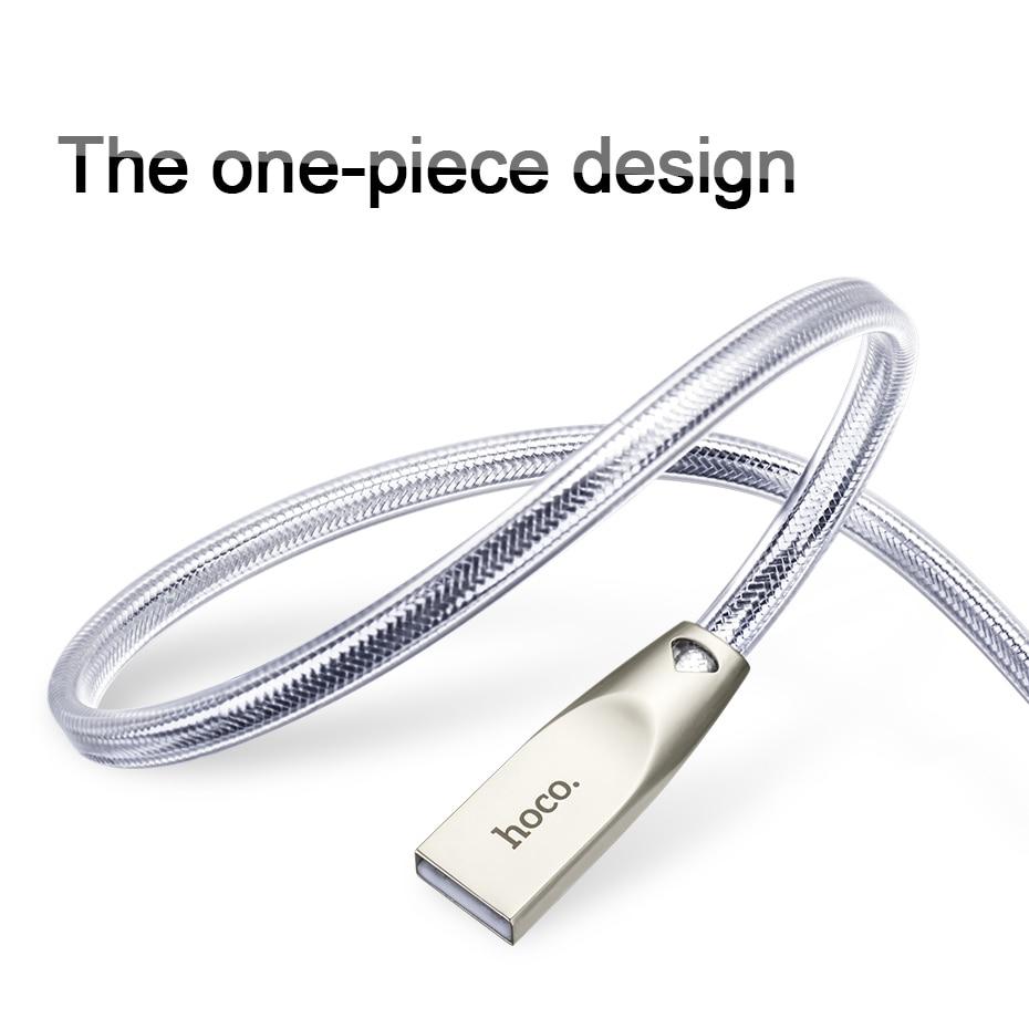 Καλώδιο HOCO USB για Apple 2.4A καλώδιο - Ανταλλακτικά και αξεσουάρ κινητών τηλεφώνων - Φωτογραφία 4