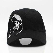 купить 2018 High Quality Unisex 100% Cotton Outdoor Baseball Cap Skull Embroidery Snapback Fashion Sports Hats For Men & Women Cap по цене 355.42 рублей